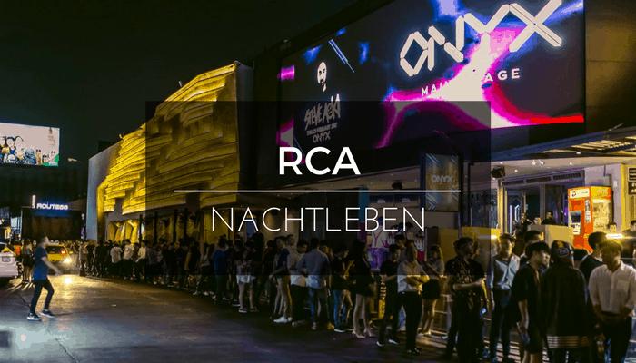 Nachtleben an der RCA
