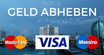 Richtig Geld abheben in Thailand