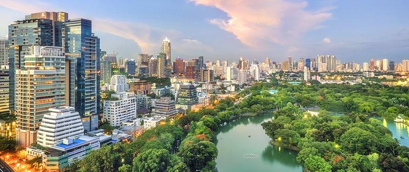 Der Lumphini Park - perfekt für Kinder in Bangkok