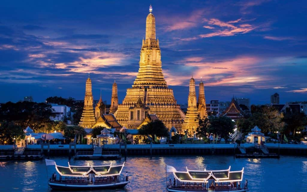 Top Sehenswürdigkeiten in Bangkok - Wat Arun