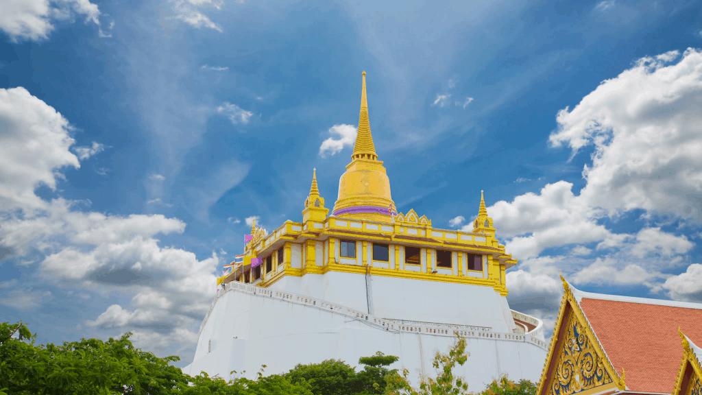 Sehenswürdigkeiten in Bangkok - Der Wat Saket Tempel