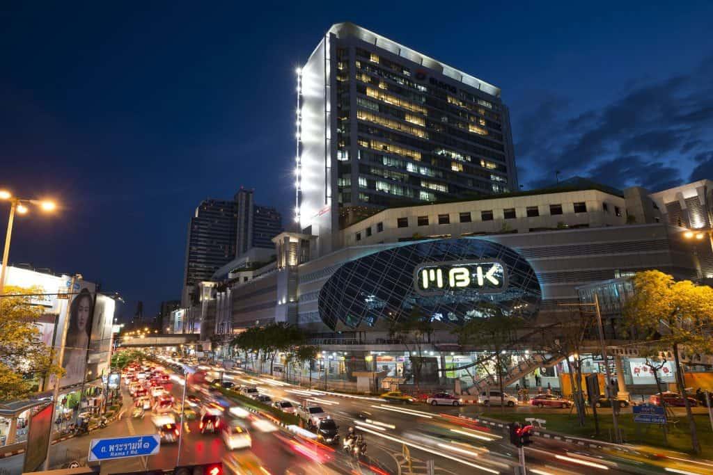 Sehenswürdigkeiten in Bangkok - Einkaufen im MBK Center