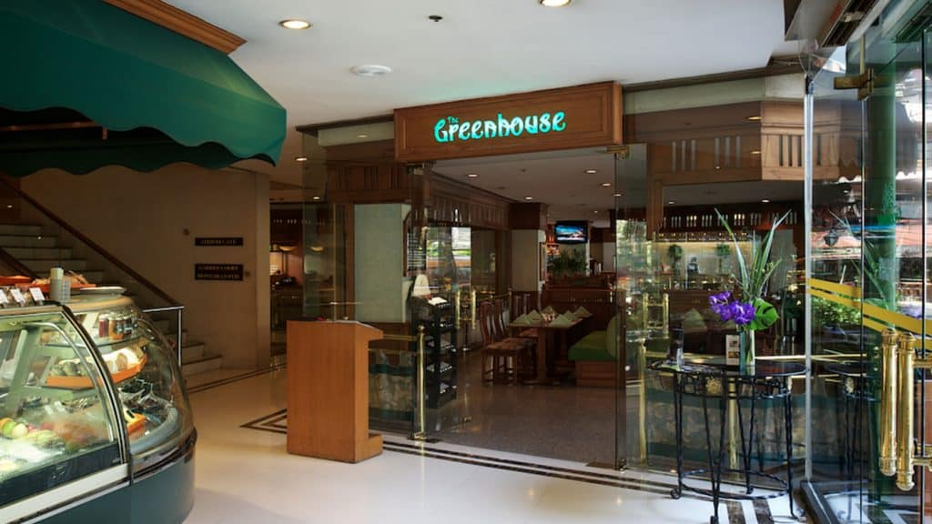 Greenhouse Cofeeshop Bangkok Landmark Hotel