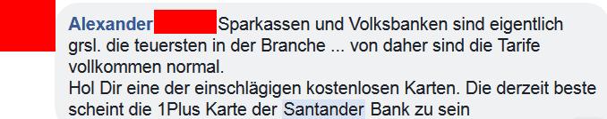Santander Kreditkarte Erfahrungsbericht